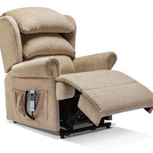 Windsor Small Fabric 'Lift & Rise' Recliner