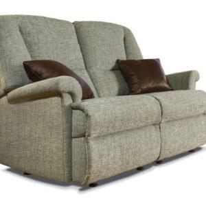 Milburn Standard Fabric Fixed 2-Seater Settee