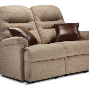 Keswick Small Fabric Fixed 2-Seater Settee