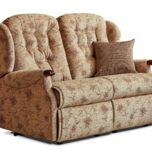 Lynton Knuckle Small Fabric Fixed 2-Seater Settee