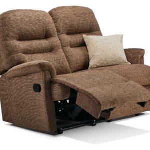 Keswick Small Fabric Reclining 2-Seater Settee