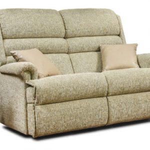 Comfi-Sit Standard Fabric Fixed 2-Seater Settee