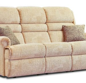 Comfi-Sit Standard Fabric Fixed 3-Seater Settee