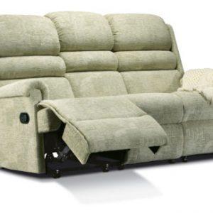 Comfi-Sit Fabric Standard Reclining 3-Seater Settee